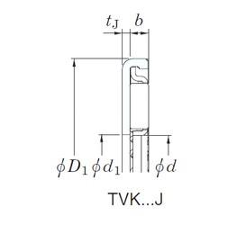 KOYO TVK2642J needle roller bearings