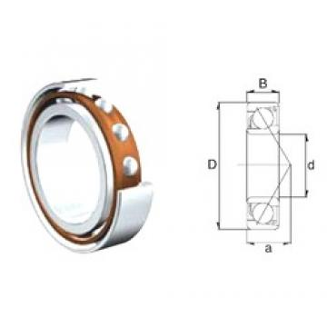 30 mm x 62 mm x 16 mm  30 mm x 62 mm x 16 mm  ZEN 7206B angular contact ball bearings