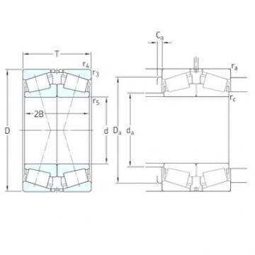 130 mm x 230 mm x 40 mm  130 mm x 230 mm x 40 mm  SKF 30226J2/DF tapered roller bearings