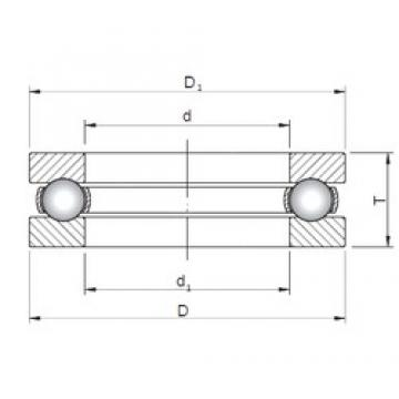 ISO 51264 thrust ball bearings