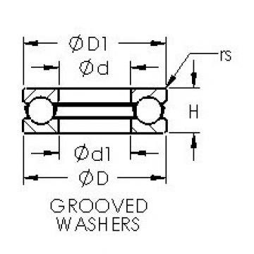 AST 51109 thrust ball bearings