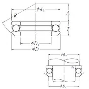 NSK 53426X thrust ball bearings