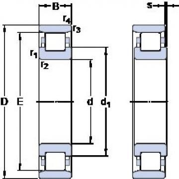 114.3 mm x 238.125 mm x 50.8 mm  114.3 mm x 238.125 mm x 50.8 mm  SKF CRM 36 AMB thrust ball bearings