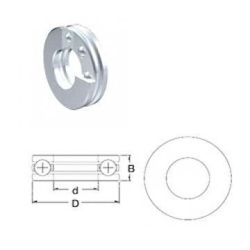 ZEN B7 thrust ball bearings