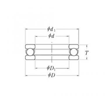 RHP MT4.1/2 thrust ball bearings