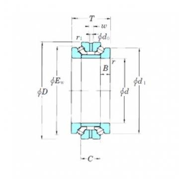 289 mm x 380 mm x 30 mm  289 mm x 380 mm x 30 mm  KOYO 239756B thrust ball bearings