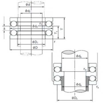 NACHI 52312 thrust ball bearings