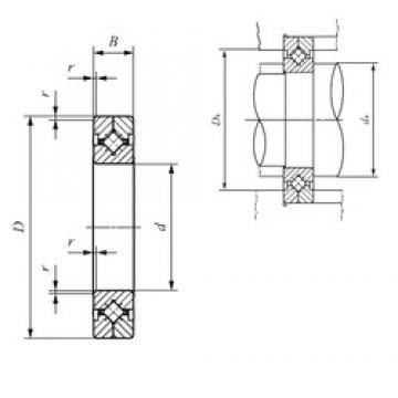 110 mm x 160 mm x 20 mm  110 mm x 160 mm x 20 mm  IKO CRBC 11020 thrust roller bearings