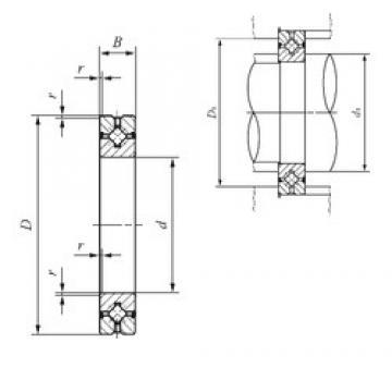 50 mm x 80 mm x 13 mm  50 mm x 80 mm x 13 mm  IKO CRBH 5013 A UU thrust roller bearings