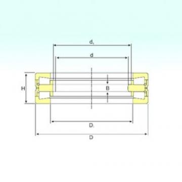 530 mm x 710 mm x 57 mm  530 mm x 710 mm x 57 mm  ISB 351475 C thrust roller bearings