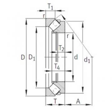 INA 29240-E1-MB thrust roller bearings