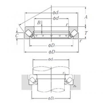 NTN 29417 thrust roller bearings