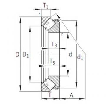 INA 29440-E1 thrust roller bearings