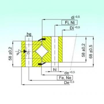 ISB NR1.16.1644.400-1PPN thrust roller bearings