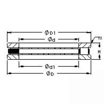 AST 81211 M thrust roller bearings