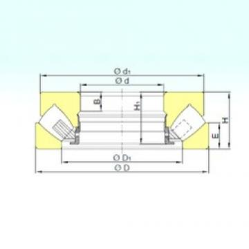280 mm x 440 mm x 70 mm  ISB 29356 M thrust roller bearings