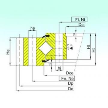 ISB ER1.50.2500.400-1SPPN thrust roller bearings
