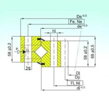ISB ZR1.16.1314.400-1SPPN thrust roller bearings