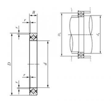 170 mm x 196 mm x 13 mm  170 mm x 196 mm x 13 mm  IKO CRBS 17013 thrust roller bearings