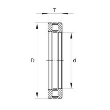 INA RT622 thrust roller bearings