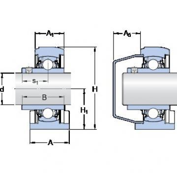 SKF SYFWK 1.7/16 LTA bearing units