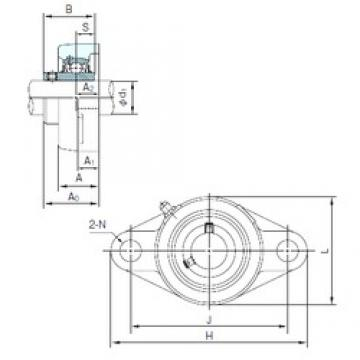 NACHI UCFL214 bearing units