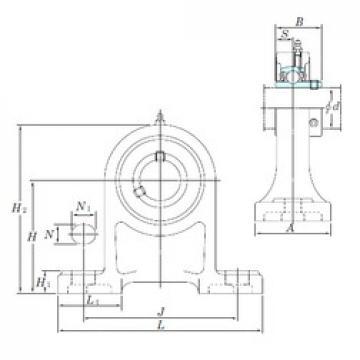 KOYO UCPH207 bearing units