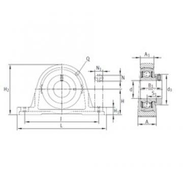 INA PASE60-N bearing units