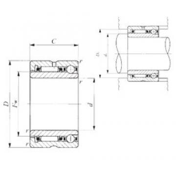 15 mm x 28 mm x 18 mm  15 mm x 28 mm x 18 mm  IKO NATA 5902 complex bearings