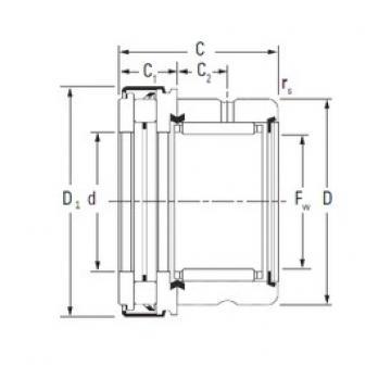 KOYO RAXZ 560 complex bearings