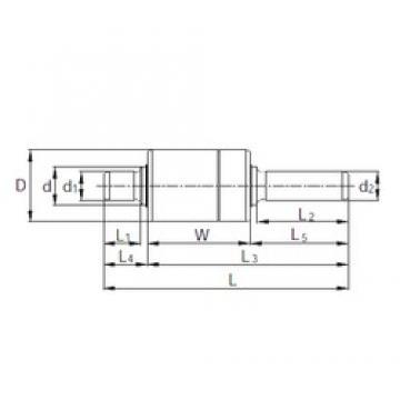 KBC RW357003 complex bearings