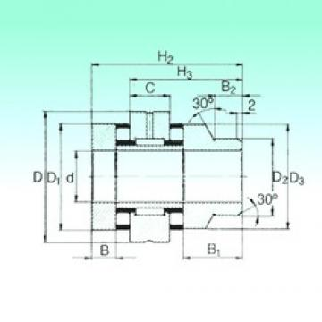 15 mm x 45 mm x 7,5 mm  15 mm x 45 mm x 7,5 mm  NBS ZARN 1545 L TN complex bearings