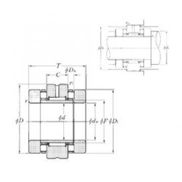 NTN ARN45105 complex bearings