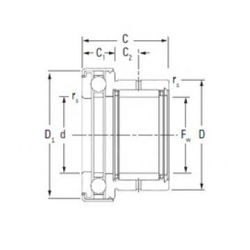 KOYO NAXK30Z complex bearings