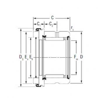 KOYO RAX 517 complex bearings