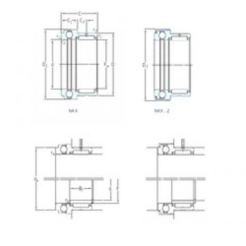 SKF NKX10ZTN complex bearings