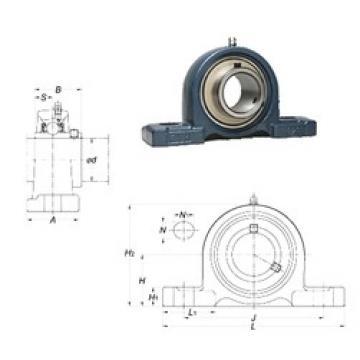 FYH UCP207 bearing units