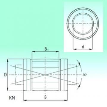 25 mm x 40 mm x 58 mm  25 mm x 40 mm x 58 mm  NBS KN2558-PP linear bearings