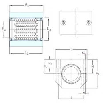 SKF LUJR 12 linear bearings