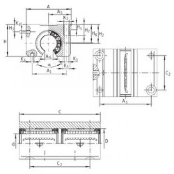 INA KTNO 16 C-PP-AS linear bearings