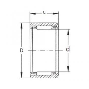 FBJ HK0709 needle roller bearings