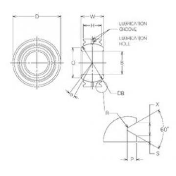 10 mm x 21 mm x 10 mm  10 mm x 21 mm x 10 mm  NMB MBG10VCR plain bearings