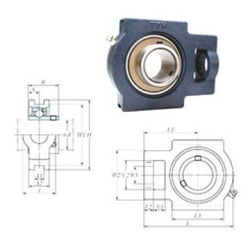FYH UCT217 bearing units
