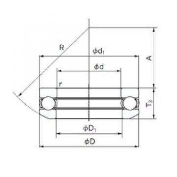 NACHI 53260 thrust ball bearings