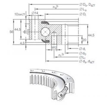 INA VSI 20 1094 N thrust ball bearings
