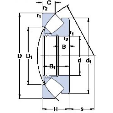 420 mm x 650 mm x 49 mm  420 mm x 650 mm x 49 mm  SKF 29384 thrust roller bearings