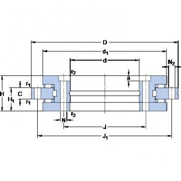 SKF NRT 325 B thrust roller bearings