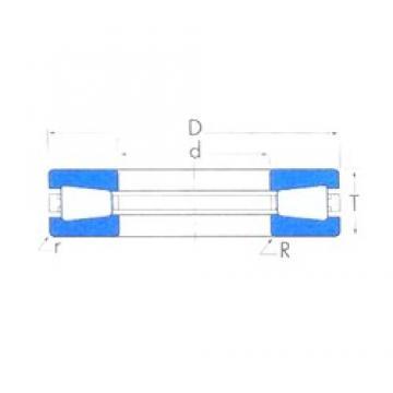 Timken T511 thrust roller bearings