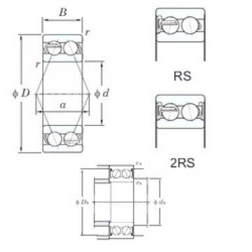 55 mm x 120 mm x 49.2 mm  55 mm x 120 mm x 49.2 mm  KOYO 5311-2RS angular contact ball bearings