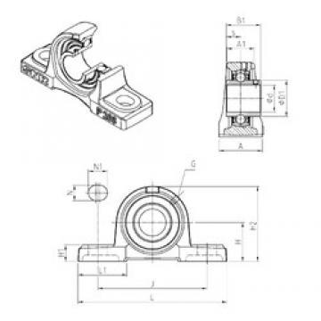 SNR UCP210 bearing units